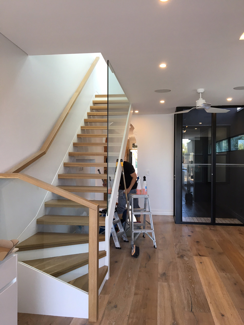 house in Lilyfield cleaned after construction